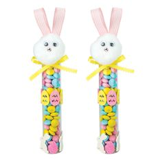 Nicole™ Crafts Easter Bunny Candy Tube #easter #bunny #craft