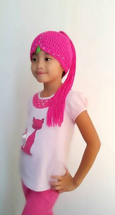 Shimmer and shine crochet wig hat twin genies hatcharacter Crochet Baby Hats, Crochet Beanie, Crochet Gifts, Scarves For Cancer Patients, Felt Baby Shoes, Yarn Wig, Doll Patterns Free, Wig Hat, How To Look Rich