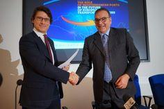 Porti: firmato laccordo di collaborazione tra lAdsp di Civitavecchia e di Ancona