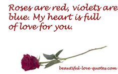 Short+Love+Poems+for+Him | Roses Are Red Poems - Short Love Poetry