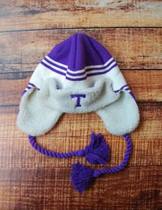 The cold weather is coming! Make sure you are prepared with this awesome Tarleton State beanie. Go TSU Texans!