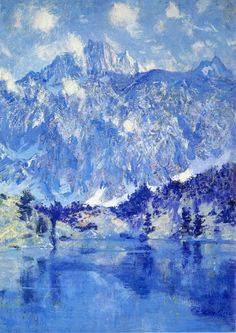 Guy Rose (1867-1925) - In the Sierra