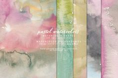 Pastel Watercolor, Watercolor Background, Watercolor Texture, Abstract Shapes, Pink Abstract, Abstract Art, Photoshop Design, Beautiful Textures, Texture Design