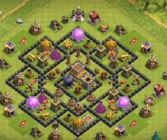 Farming Bases Links 2020 with Bomb Tower. These Bases can Withstand various enemy attacks in multiplayer battles. Town Hall, Clash Of Clans, Everything, Base, Farming, Gym, Clash On Clans, Work Outs, Gymnastics Room