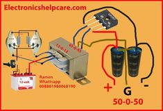 step up transformer experiment - Electronics Help Care Electronic Circuit Projects, Electronic Engineering, Electrical Engineering, Electrical Wiring, Hobby Electronics, Electronics Projects, Switched Mode Power Supply, Diy Amplifier, Power Supply Circuit