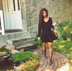Shirt dress with gladiator sandals....i need in my life