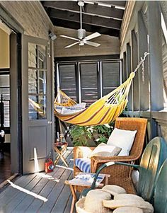 Beach House Style Decorating | Apartment Therapy, so beautiful, wish i lived i place like that, just a step from the sea, so close that you can se it from your porc :o