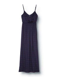 Central Park Dots Maxi Dress $102  www.boutiika.com
