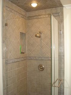 Shower Stalls On Pinterest Open Showers Showers And Traditional Bathroom