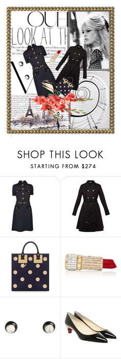 """Look at the Stars"" by rita257 ❤ liked on Polyvore featuring Victoria Beckham, Michelin, GE, Gucci, Ted Baker, Sophie Hulme, Judith Leiber, Givenchy and Christian Louboutin"
