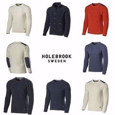 Looking for a knitted sweater? These are now in stores. -Spring/summer 16 collection. #fashion #holebrook #swedishknitwear #SS16 #Spring #summer #knitting #knit #ladies #mens #Coastal #holebrooksweden #design #Wool #cotton #Sweden #trend #svensktmode #kustliv #höst #stickat #tröjor #dam #herr