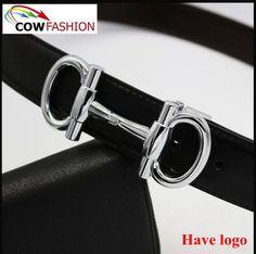 New Top Quality Leather Men Casual Belts Designer Skull Buckle Dot Strap Black White Male Belt Size 105-125cm For Improving Blood Circulation Men's Belts