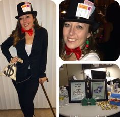 this was my unique halloween costume for 2014 uncle pennybags from monopoly i drilled holes through some houses and hotels to make custom earrings made