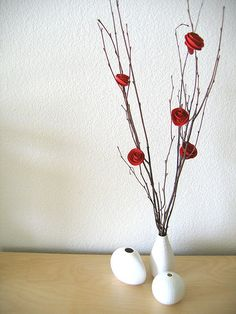 Paper Flower Tutorial... by dozidesign (Flickr)