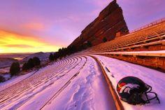 Red Rocks Amphitheater - Colorado. <3