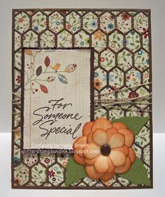 #cheeryld Glitter, Stamps, and Ink (Oh My...): Rusty Chicken Wire card