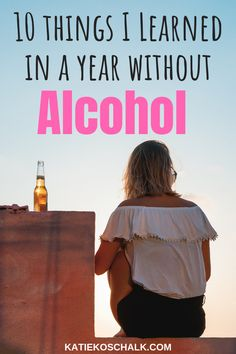 Ever thought about giving sober life a try? Here are 10 important things I learned in a year of sobriety (no alcohol or other substances!) Hope it gives you some sober living motivation.