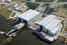 The launch of the future USS Montgomery (LCS-8) on Aug 6, 2014 in Mobile, Ala. Austal USA Photo