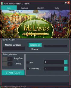 My Lands Hack na Złoto i Czarne Perły
