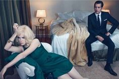 Sizzling Boudoir Spreads - The May 2012 W Magazine Cover is Sultry (GALLERY)