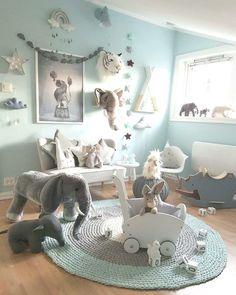40 adorable nursery ideas for kids, kids and baby toys # Delights .