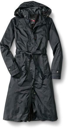 WeatherEdge® Long Trench Coat Modern Hijab 8cf5debf33