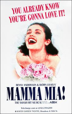 """Dancing in my seat all the way through """"Mamma Mia!"""" Loved it!"""
