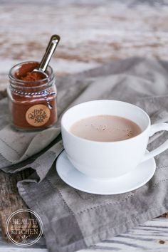Paleo Instant Hot Chocolate Mix - had to add a little maple syrup to each cup, but quite satisfying