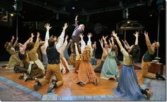 The cast of The Music Man - Marriott Theatre 2