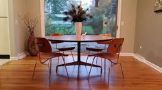 Eames Herman Miller 54 Round Dining Table by JCModern on Etsy, $499.99