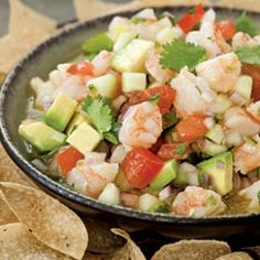 "Traditional ceviche consists of raw seafood tossed with an acidic marinade (think: citrus juice or vinegar) that ""cooks"" the fish."