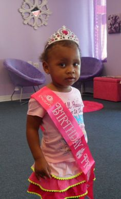Princess Birthday Party @ Lilacs & Lily's Spa for Girls