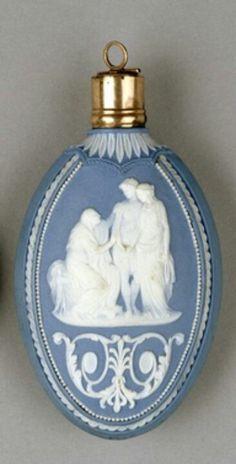 Love is BLUE...Perfume Bottle Wedgewood