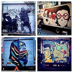 New York's Vibrant Street Art - Walks of New York New York Street Art, Nyc Art, Art Walk, Great Words, Public Art, Vibrant, Walks, Big Words