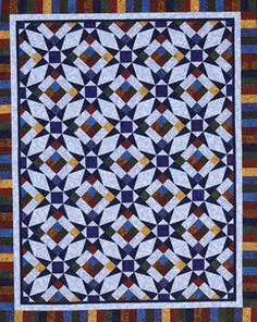 Alberta Stars Quilt  (color sample)