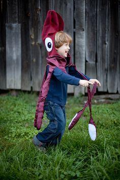 Giant Squid, Kraken, Octopus kids costume for Halloween