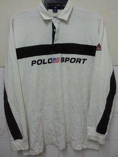SALE Vintage 1990s Polo Sport Logo Flag Ralph by SuzzaneVintage