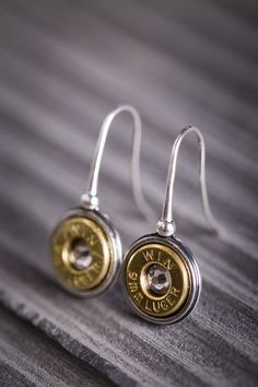 Sterling Silver Bullet Earrings need these now to match my necklace