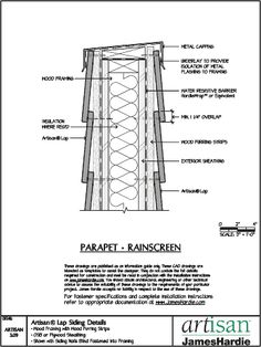 1000 Images About Parapet Detail On Pinterest Masonry