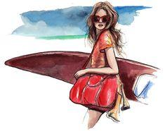 girls of summer | The Sketch Book – Inslee Haynes