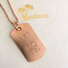vandazzz_com's photo on Instagram Dog Tags, Dog Tag Necklace, Pretty, Instagram Posts, Pink, Gold, Jewelry, Jewlery, Jewerly