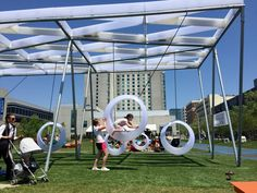 Behind the hulking Boston Convention Center, the city is reinventing its outdoor spaces at Lawn on D, an innovative park with swing sets for adults, public Wi-Fi, a beer tent, food trucks, free games like bocce and corn hole, and live performances; in winter, events have included fire art performers and an ice maze. - NYT