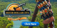 Silver Dollar City, Branson, MO. A great family place. lots of rides, good food and entertainment.  A must go to place.