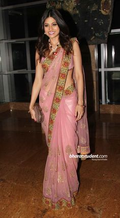 Shamita Shetty at Ganesh Hegde's Wedding Reception, 2011