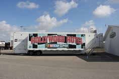 The Hollywood Hotel sits just behind pit road on race weekend!