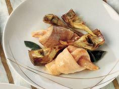 Lezzetli Bir Balık Yemeği Tarifi ''Somon Balığı Düğümleri ve Sote Enginar'' La Cucina Italiana'da...  #food #cooking #baking #balık #fish #balık yemegi #Tarif #lacucinaitaliana #yemek tarifi #Somon #enginar #italyan yemegi #italyan mutfagı