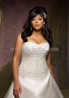 Style 3128 Bridal Gowns - Wedding Gowns - Plus Size Bridal   Wedding Gowns Full Figure Bras Crinolines