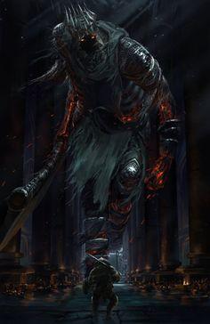 Dark souls 3 - Yhorm - Ishutani