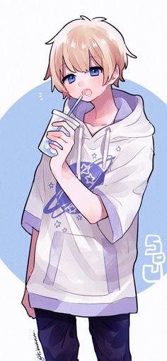 Pin de black moon 🌙 🌙 en anime boy's anime, anime chibi y ka Anime Boy Kawaii, Anime Neko, Cool Anime Guys, Cute Anime Boy, Anime Boy Base, Espada Anime, Dossier Photo, Witcher Wallpaper, Fan Art Anime