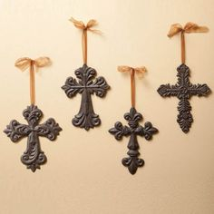Cast Iron Crosses Wall Decor >>> Be sure to check out this awesome product.
